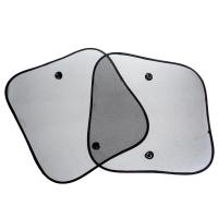 Шторка солнцезащитная набор TORSO для авто на присосках, 36х44 см