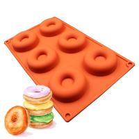 Силиконовая форма для выпечки и заморозки Пончик