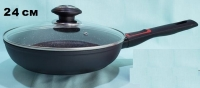 Сковорода Восток Стиль с мраморным покрытием 24 см