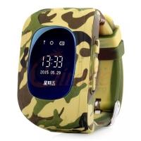 Умные часы SMART BABY WATCH Q50 камуфляж (хаки)