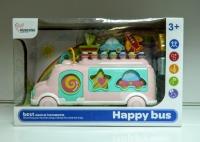 Сортер ксилофон автобус