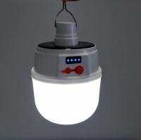Светильник лампа светодиодный на солнечной батареи 2022