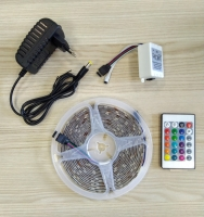 Светодиодная лента RGB 5 метров с пультом управления