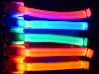 Ошейник с подсветкой светящийся L, 3 режима свечения