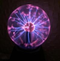 Лампа молния плазменный шар