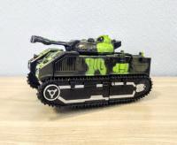 Машинка танк трансформер свет, звук