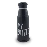 Термос My bottle 350 мл черный