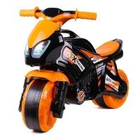 Толокар беговел машинка каталка Мотоцикл оранжевый