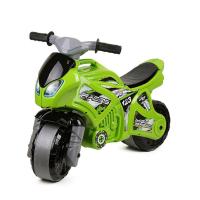 Толокар беговел машинка каталка Мотоцикл зеленый