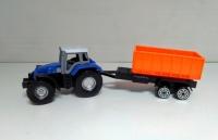 Трактор с прицепом игрушечный