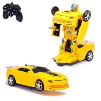 Машина робот трансформер Бамбелби на ру