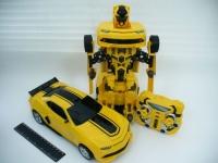Машина - трансформер с пультом мал. коробка
