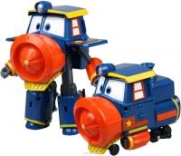Трансформер Робот поезд Robot Trains Victor с амуницией