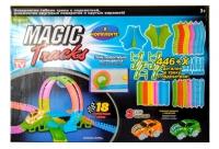 Трек светящийся Magic Tracks 446 деталей с 2-мя машинками