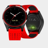 Умные часы Smart Watch V9 красно-черные