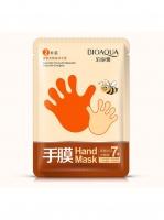 Увлажняющая маска-перчатки Bioaqua  для рук с экстрактом мёда