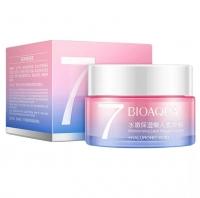 Увлажняющий крем для лица bioaqua 7 moisturizing lazy vegan cream hyaluronic acid, 50 гр