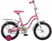 АКЦИЯ! Велосипед детский NOVATRACK 14 TETRIS розовый