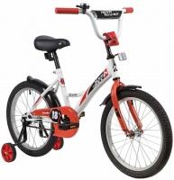 АКЦИЯ! Велосипед NOVATRACK 18 STRIKE белый-красный