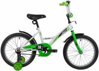 АКЦИЯ! Велосипед NOVATRACK 18 STRIKE белый-зелёный