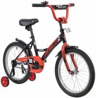 АКЦИЯ! Велосипед детский NOVATRACK 18 STRIKE черный-красный
