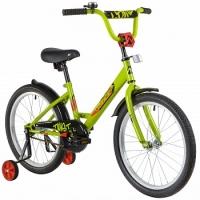 АКЦИЯ! Велосипед детский NOVATRACK 20 TWIST зеленый