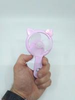 Вентилятор ручной фиолетовый
