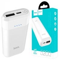 Внешний аккумулятор Power bank Hoco B35A 5200MAH белый