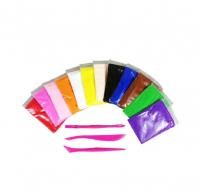 Воздушный пластилин 12 цветов, 150 гр
